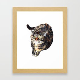 Kitty Cat Chili Framed Art Print