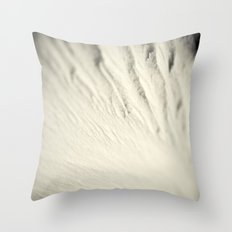 Waves of Wood Throw Pillow