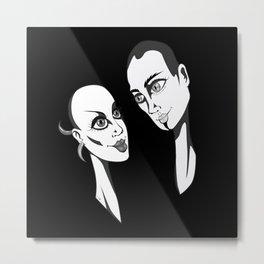 Couple Metal Print