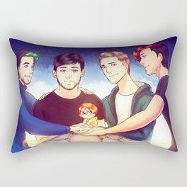 When I see you again Rectangular Pillow