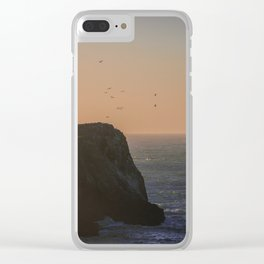 Seagull Paradise Clear iPhone Case