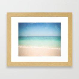 Seven Mile Beach Framed Art Print