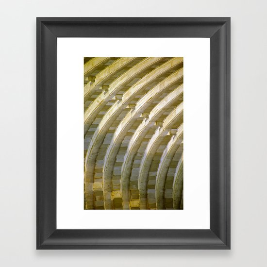 Ancient Theatre Framed Art Print