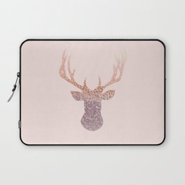 ROSEGOLD DEER BLUSH Laptop Sleeve