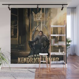 Kendrick - Watch The Black Throne Wall Mural