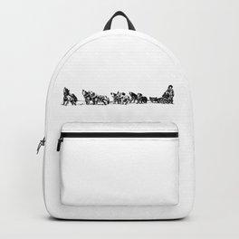 Dog Sled Team Backpack