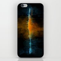 islam iPhone & iPod Skins featuring Istanbul City Skyline Hq v4 by HQPhoto