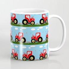 Toy tractor pattern Mug