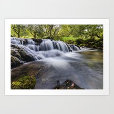 Mountian Water  Art Print