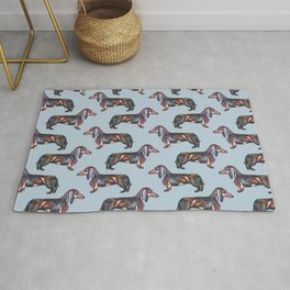 Dachshunds Rug
