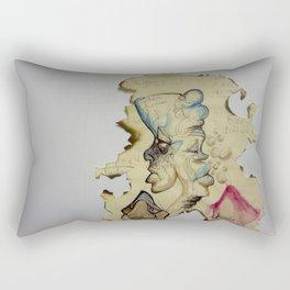 Burning up Depression Rectangular Pillow
