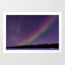 Nighttime Rainbow Art Print