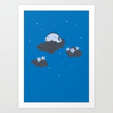 The Silent Night Art Print