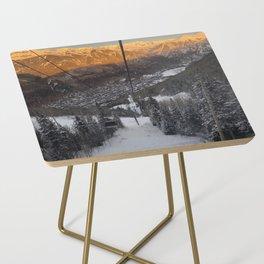 Telluride Colorado Side Table