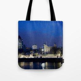 Tower of London at night Tote Bag