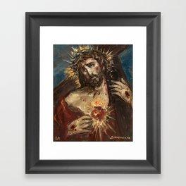 Cor Jesu Sacratissimum Passio Framed Art Print