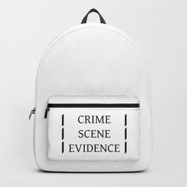 Crime Scene Evidence Backpack