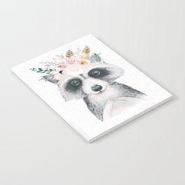 Forest Raccoon by Nature Magick Notebook