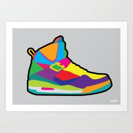 Jordan 45 high Art Print