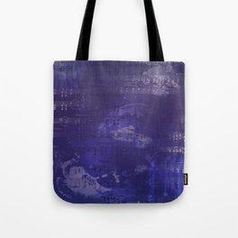 Sheet Music - Mixed Media Partiture #1 Tote Bag