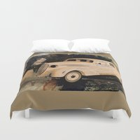 gangster Duvet Covers featuring A Gangster Love Story by D'Young Art