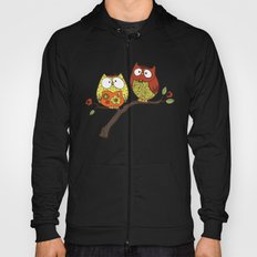 Decorative Owls Hoody
