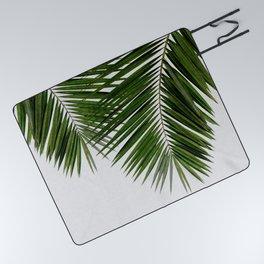 Palm Leaf II Picnic Blanket