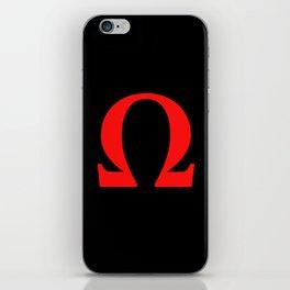 Ω omega iPhone Skin