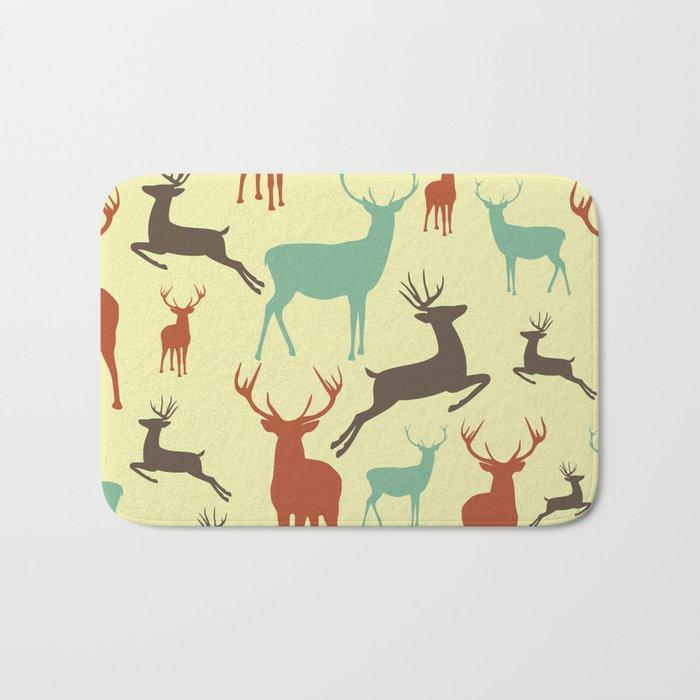 Reindeers Bath Mat