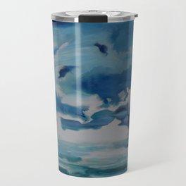 Ocean Clouds Travel Mug