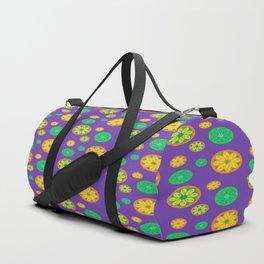 limon pattern Duffle Bag