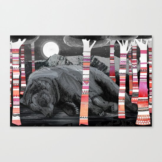 Sweet Dreams Ursus Arctus  Canvas Print