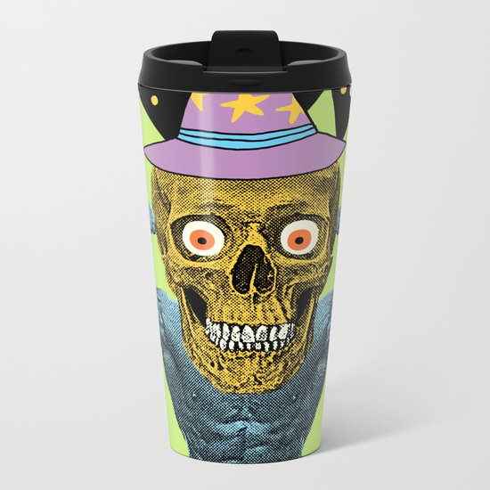 SPACE WIZARD Metal Travel Mug
