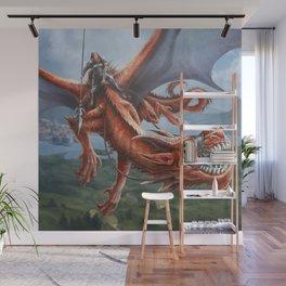 Dragon Rider Wall Mural