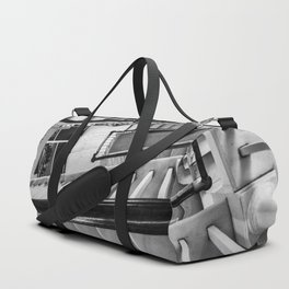 New York stairwell Duffle Bag