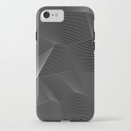 Minimal lines iPhone Case