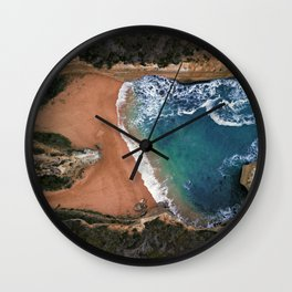 Loch Ard Gorge Beach Great Ocean Road Australia  Wall Clock