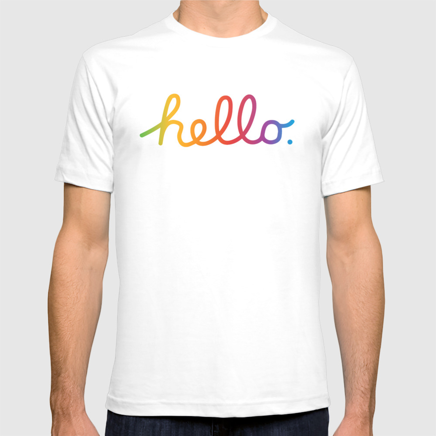 0800fe1ce Hello — A tribute to Apple T-shirt by darthnicklas | Society6