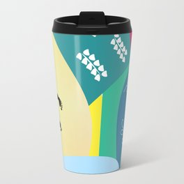 Abstract summer route Travel Mug
