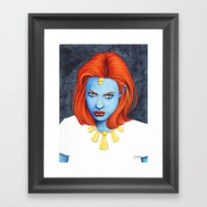 Super Gurls - 04 Framed Art Print