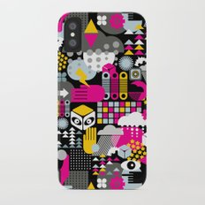 Abstract. iPhone X Slim Case