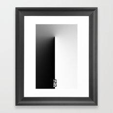 Truth & Lies Framed Art Print