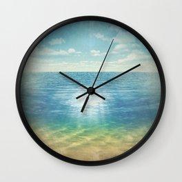 Insta Beach Wall Clock