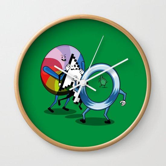 System bullies Wall Clock