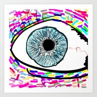 iris Art Prints featuring Iris by Beyond Infinite