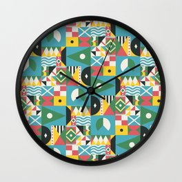 Citizen of the World Wall Clock