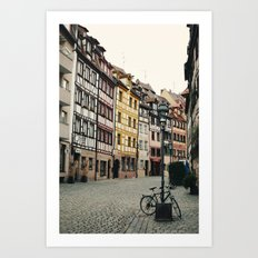 Old Town Art Print
