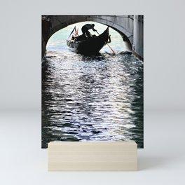 Rowing toward the Infinite Mini Art Print