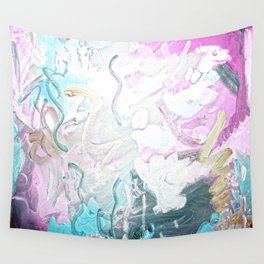 Bright Mess Wall Tapestry