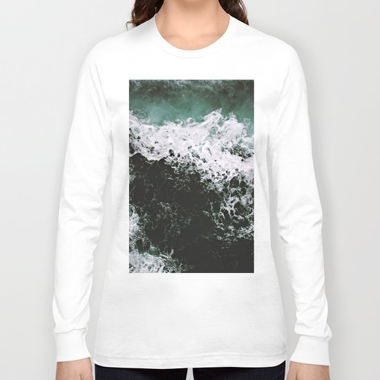 Waves #ocean Long Sleeve T-shirt